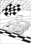 Disney Cars Coloring Pages Free Coloring Pages