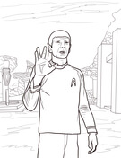 star trek coloring pages # 18
