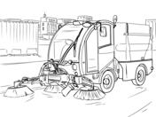 Ausmalbilder Lastwagen - Malvorlagen Kostenlos zum Ausdrucken