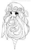 Chibi Coloring Pages Free Printable Pictures