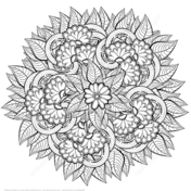 Coloriages Zentangle Coloriages gratuits 224 imprimer