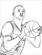 Shaquille Oneal Coloring Pages Coloring Pages
