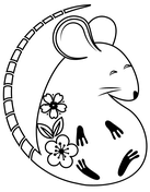 Chinese New Year Coloring Pages Free Printable Pictures
