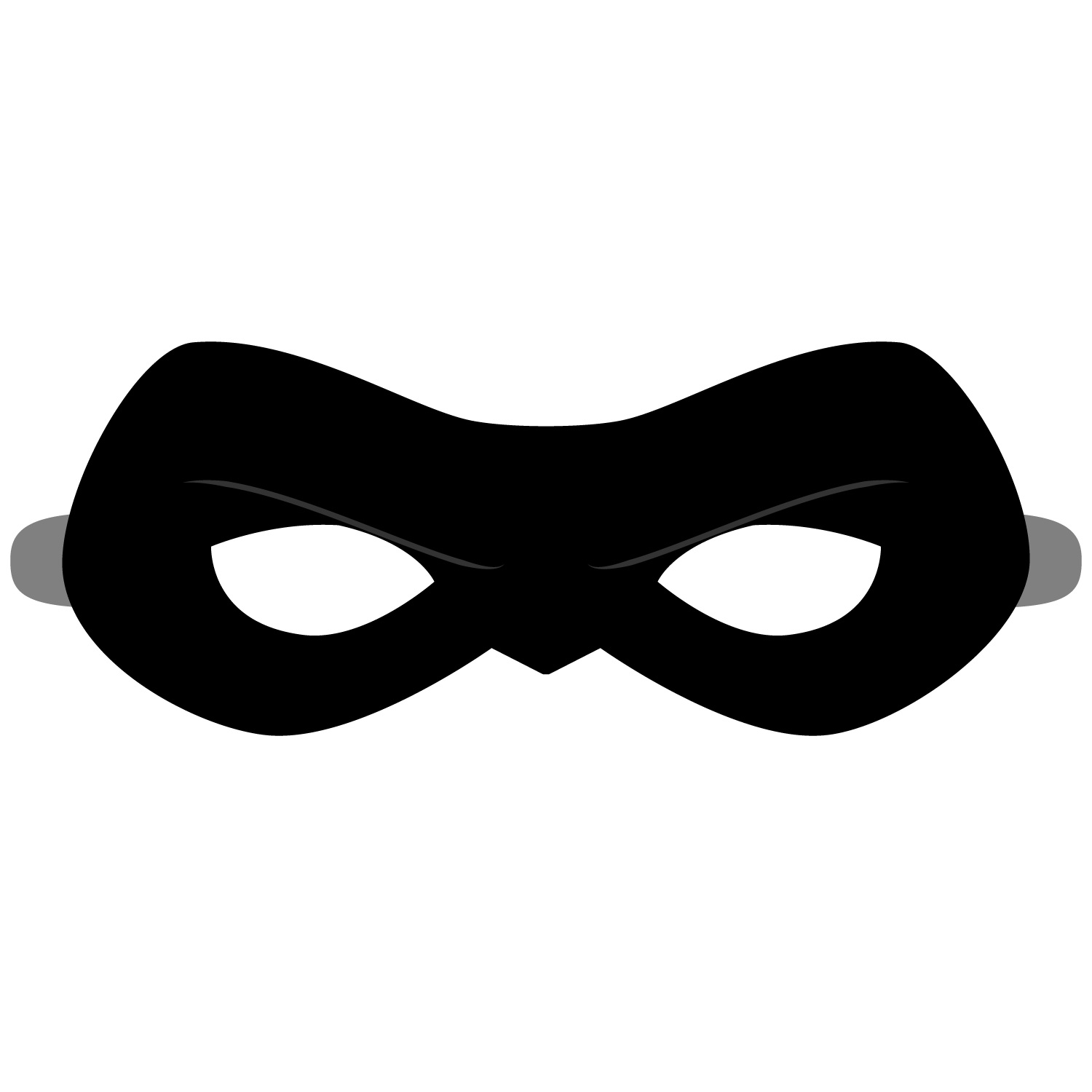 Incredibles Mask Template