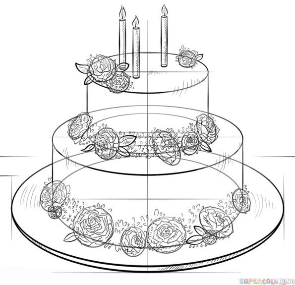 Pin Styles Vary On Cake Designs Cake on Pinterest