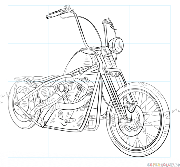 Coloring Page Racer Drag