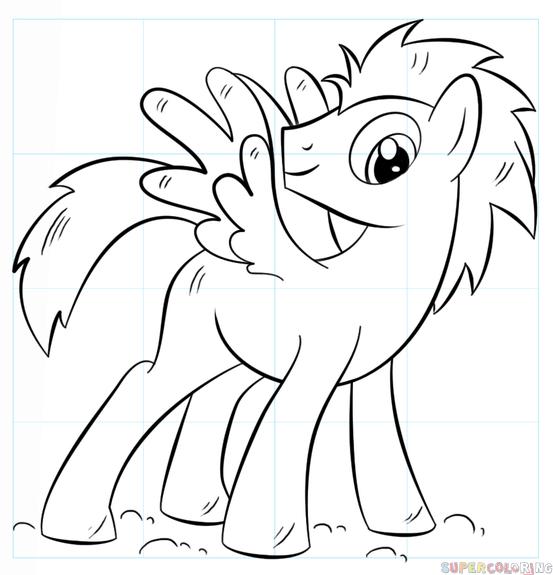 Mlp Filly Base Unicorn