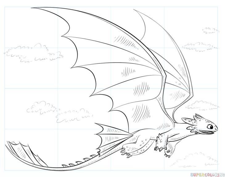 ausmalbilder dragons die reiter von berk  ausmalbilder