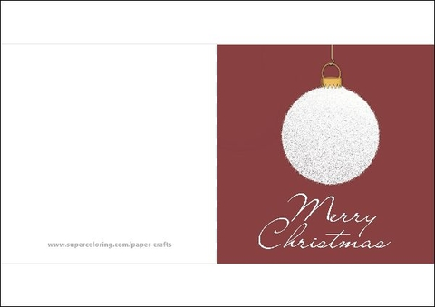 Christmas Decorations Template