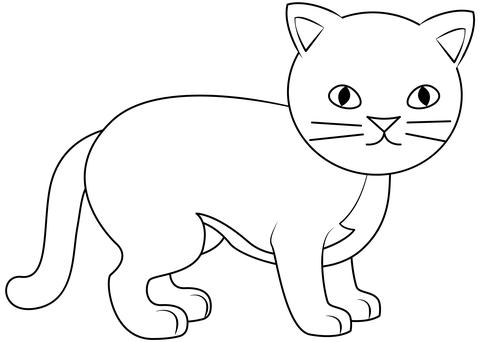 Cat Printable Template Free Printable Papercraft Templates