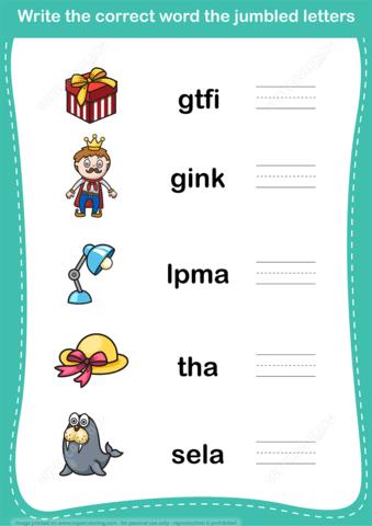 Jumble Word Game Copy  Free Printable Puzzle Games