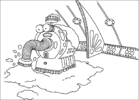 Nanny For Coloring Coloring Pages