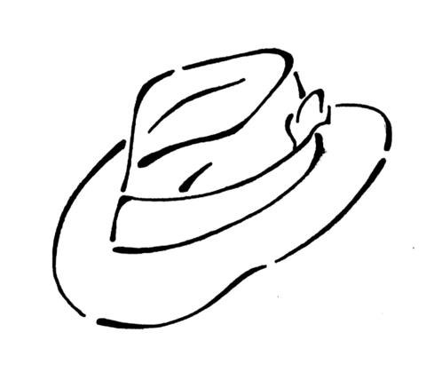Printable paper hats Trials Ireland