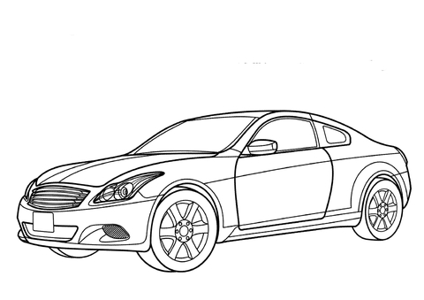 Nissan Skyline Coloring Page ~ patientswithoutborders