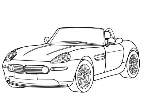 voiture tuning dessin