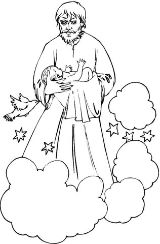 joseph smith coloring pictures