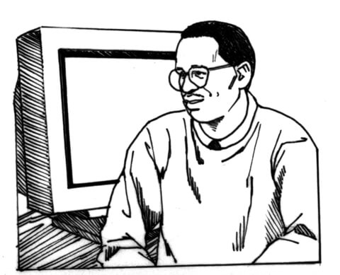 Professor Of Computer Science coloring page