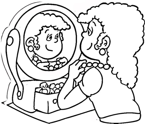 JEWELRY COLORING PAGES « Free Coloring Pages