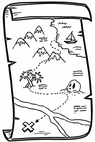 Printable Treasure Maps Cake Ideas and Designs