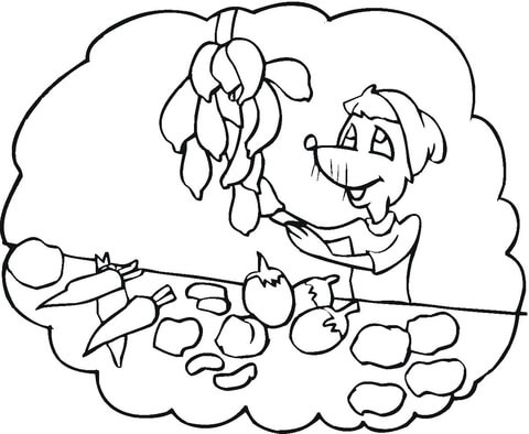 Printable vegetable pictures to color Trials Ireland