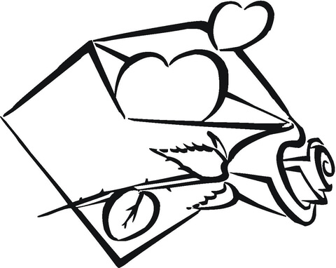 Coloriage Envelope