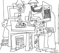 Ciao bambini: Pablo Picasso Stampare e colorare Laboratori ...