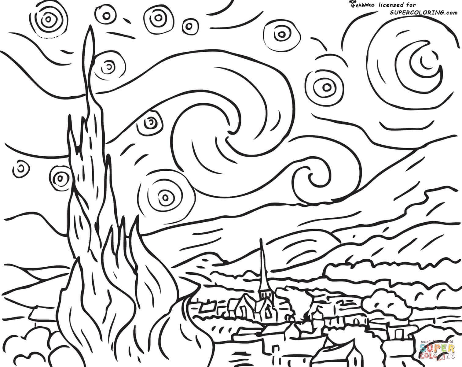 Thiel Academy: Picture Study: Vincent Van Gogh