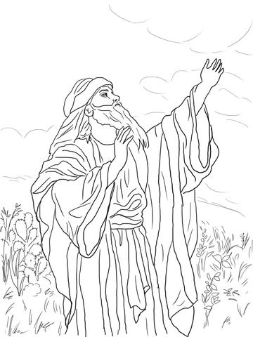 Zacharias En Elisabeth Kleurplaat 13 Best John The Baptist