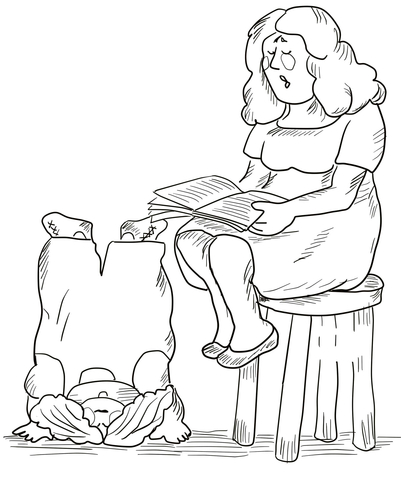 They Were Even Rude During Story Hour coloring page