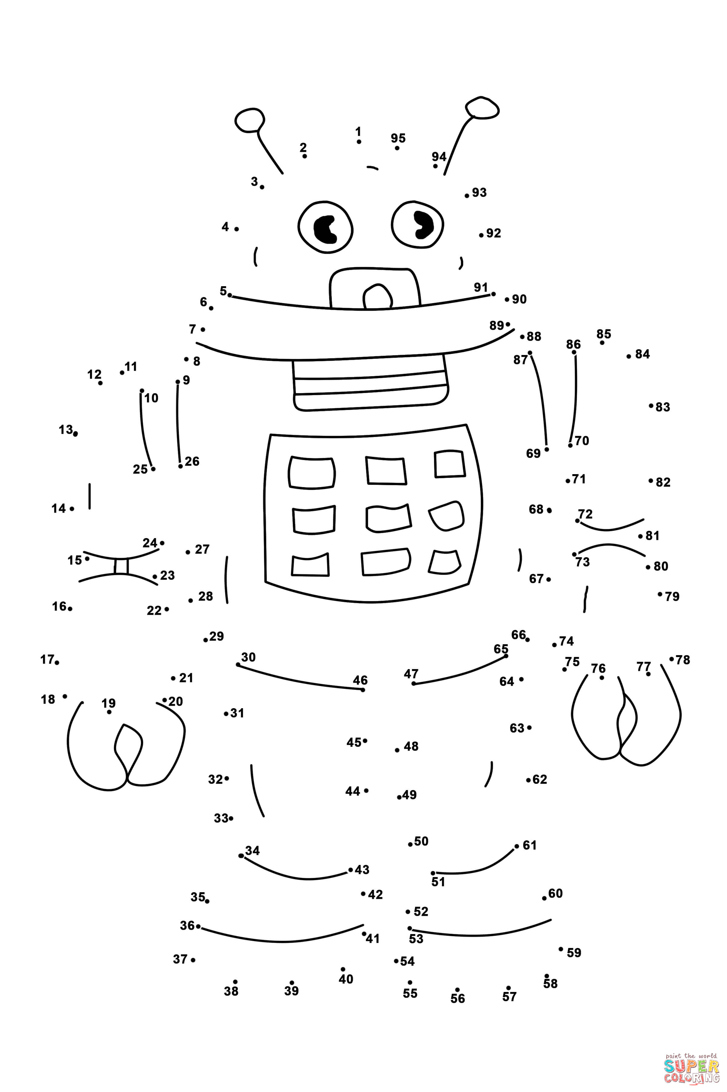 Robot Dot To Dot With Images