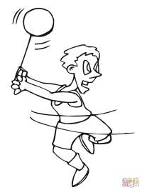 Hammer Coloring Coloring Pages