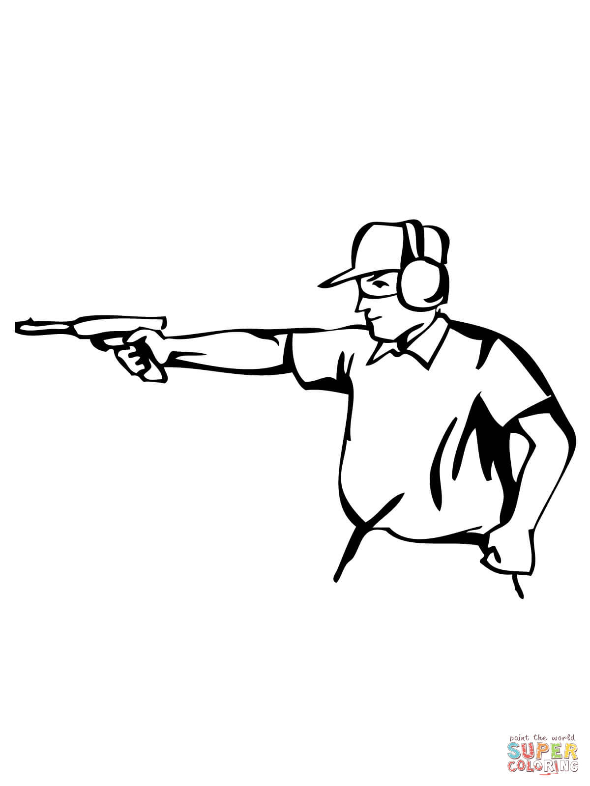 Pistol Pete Coloring Pages Coloring Pages