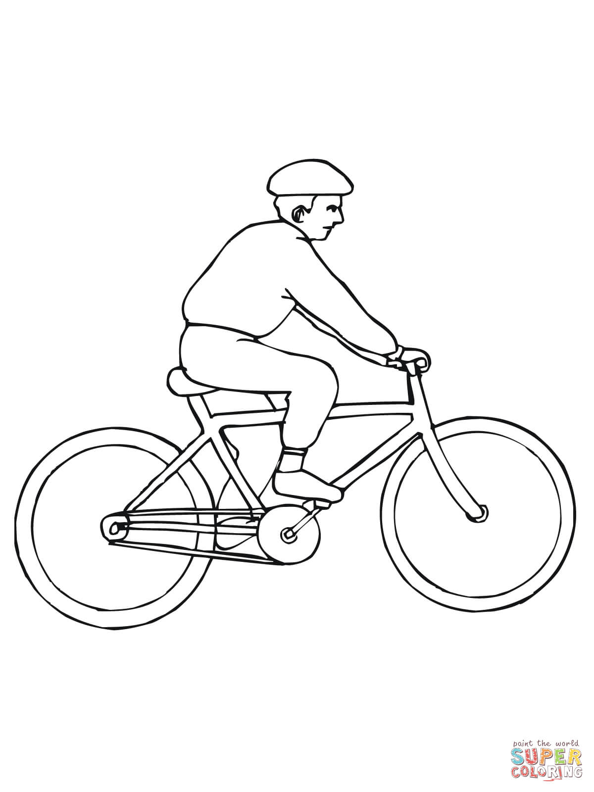 Pin Bicycle Safety Printable Coloring Books Baltimore Pain