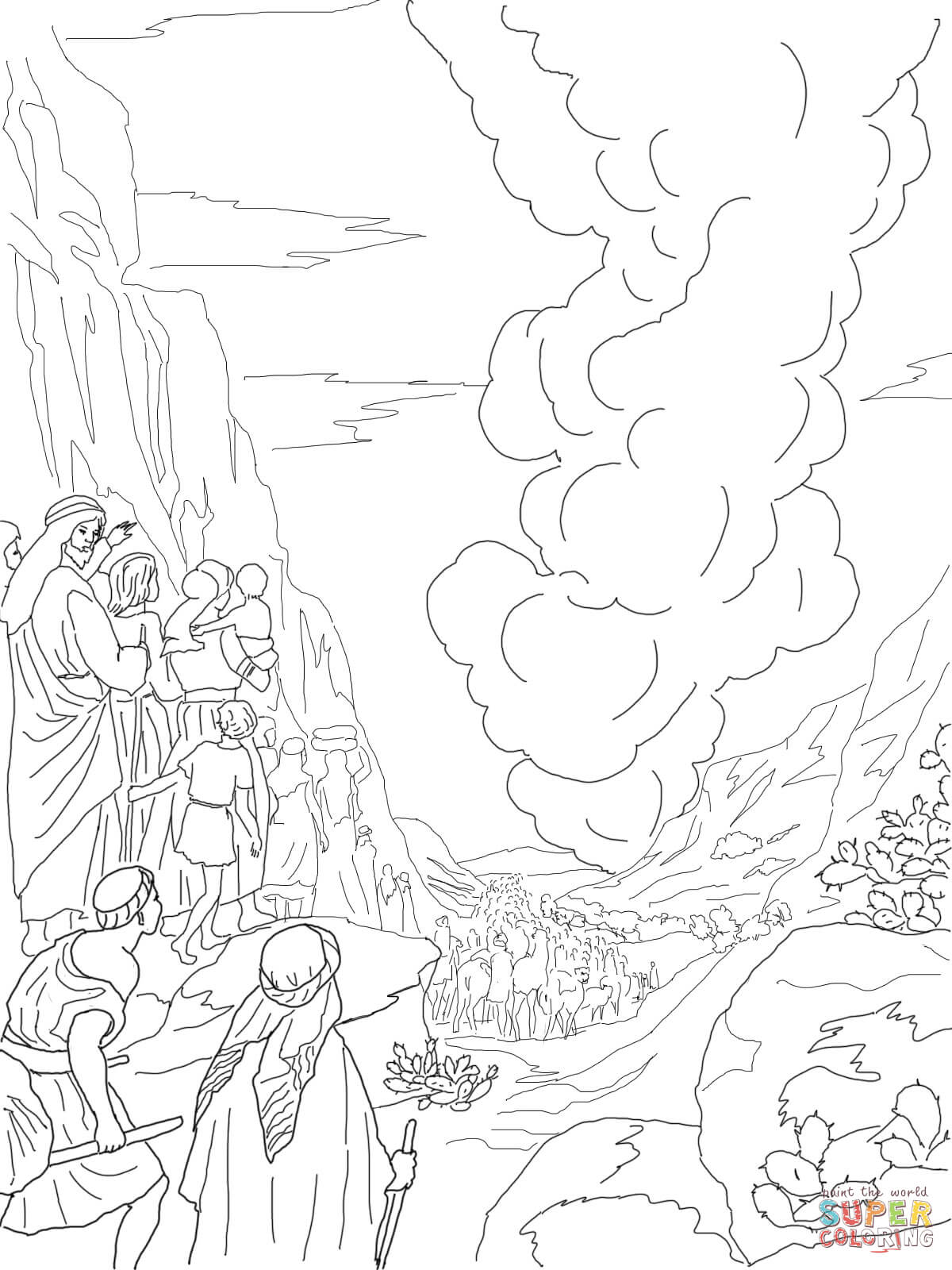 Tabernacle Coloring Sheet Coloring Pages