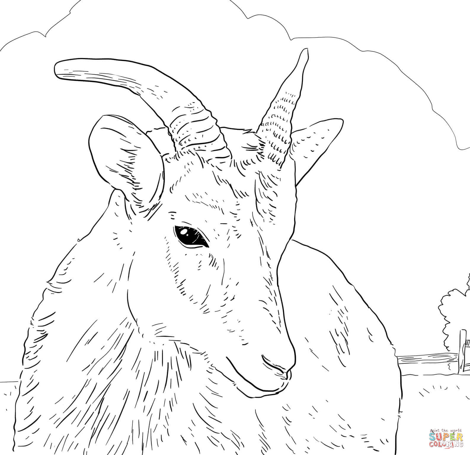 Horns Coloring Pages