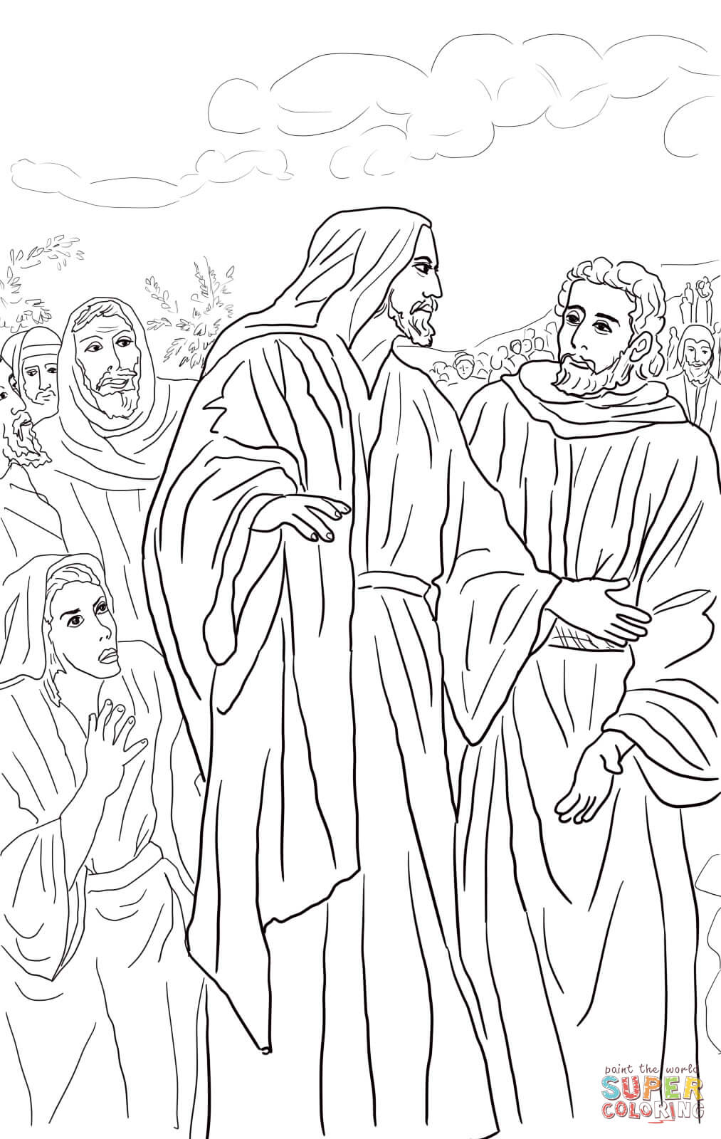 Unmerciful Servant Coloring Page Coloring Pages