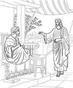 Jesus Chose Disciples Coloring Page Coloring Pages