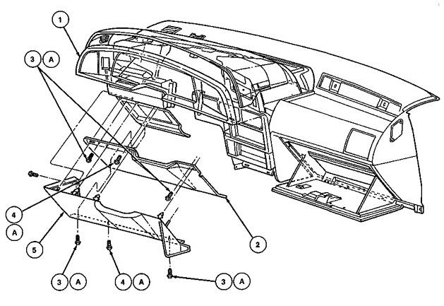 1989-97 Thunderbird Speedometer