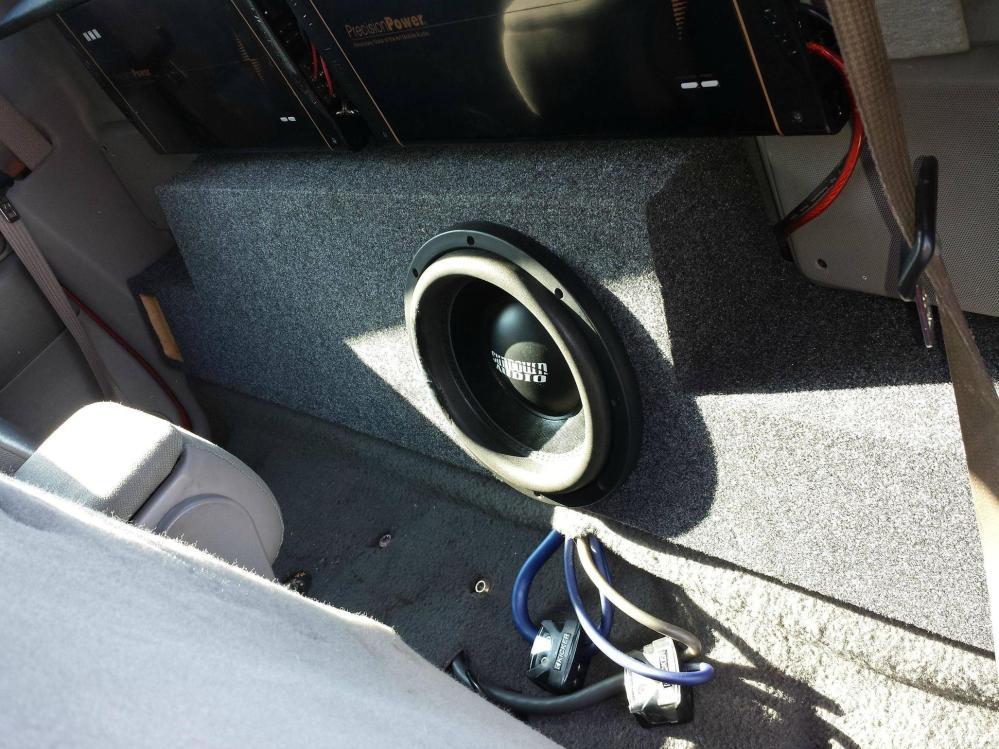 medium resolution of ford ranger standard cab 99 12 ported subwoofer box