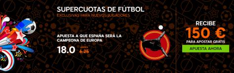 Supercuota 888sport España Eurocopa