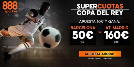 Supercuota 888sport Copa del Rey