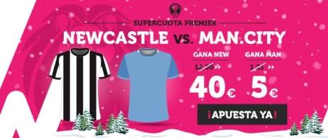 Supercuota Wanabet Premier Newcastle vs Man.City