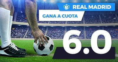 Supercuota Paston Real Madrid gana cuota 6.0