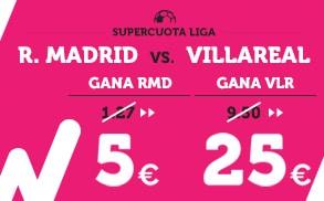 Supercuota Wanabet la Liga Madrid - Villarreal