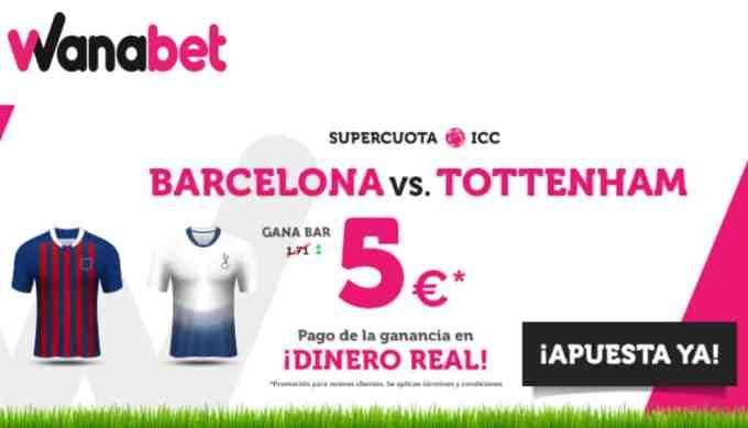 supercuota wanabet Barcelona
