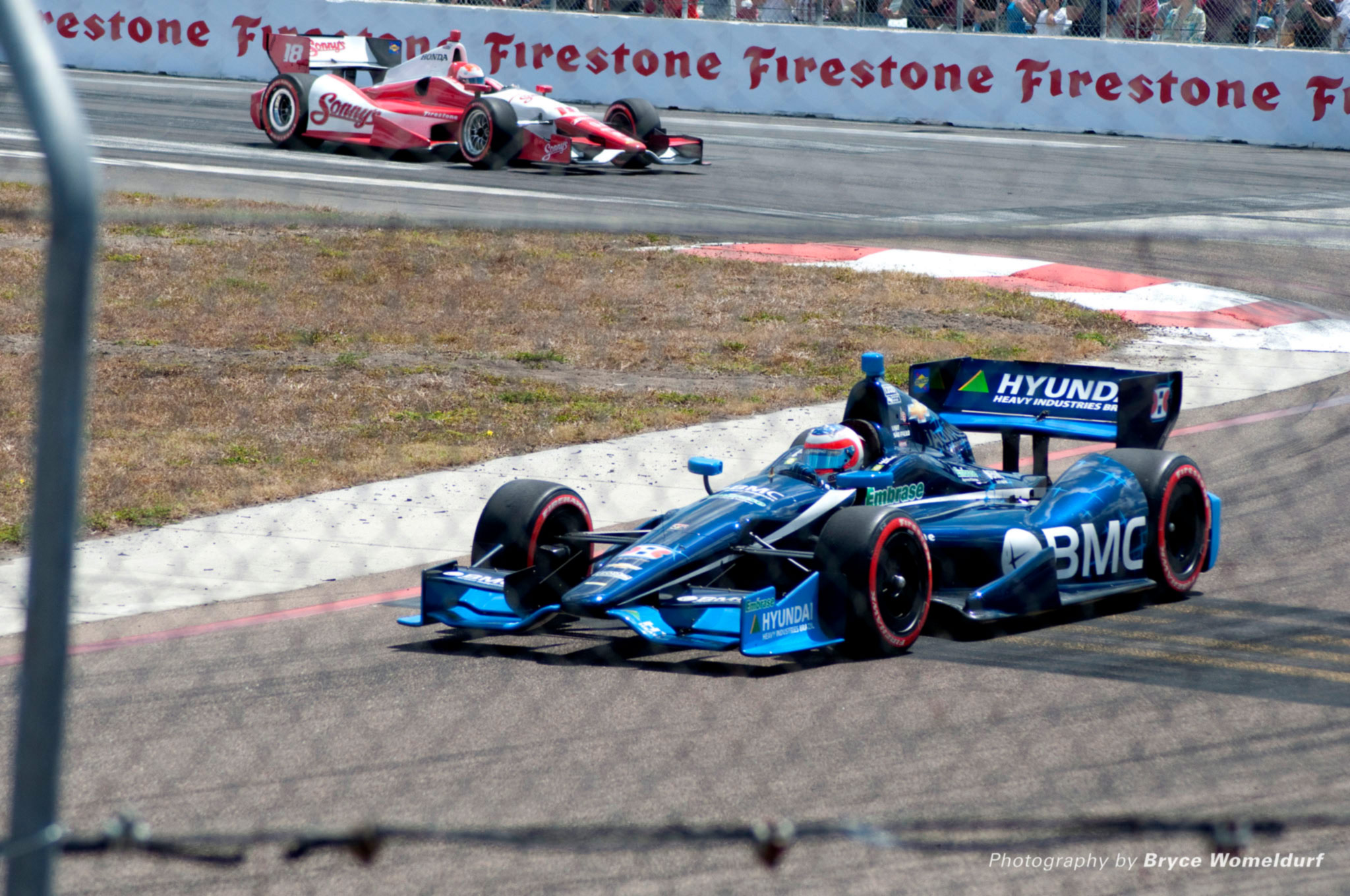 F1 Rubens Barrichello em 2012 - Indy - foto by Flickr Bryce Womeldurf