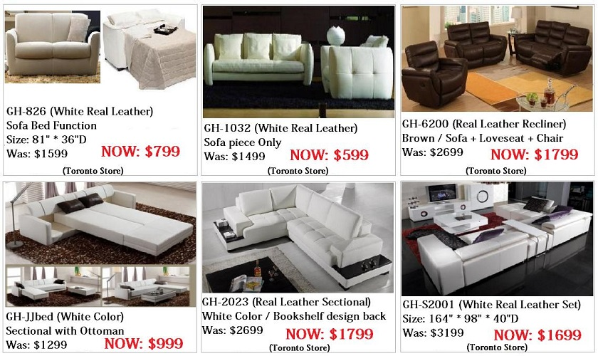 cheap modern sofa beds toronto home theater philippines furniture sale, on ...