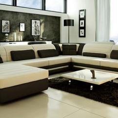 Modern Living Room Sofa Furniture Natural Oak Floors Custom Leather Sectional Sofas And In Toronto Ottawa Mississauga