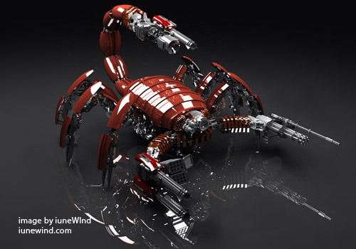Um Mundo de Escorpiões