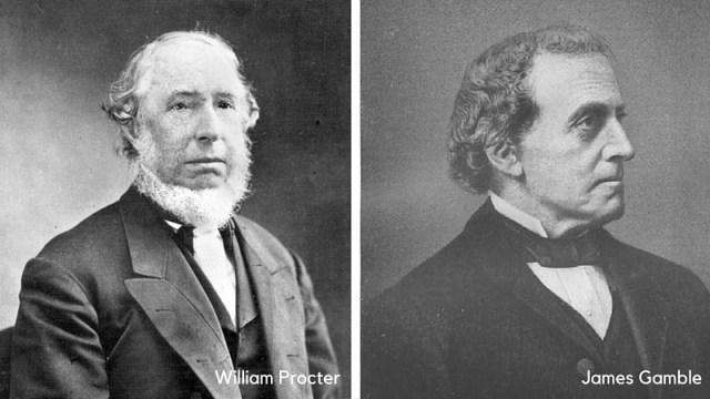 William Procter e James Gamble